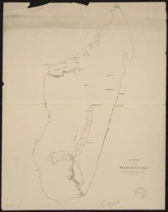 Géodésie de Madagascar. Triangulation de 1898