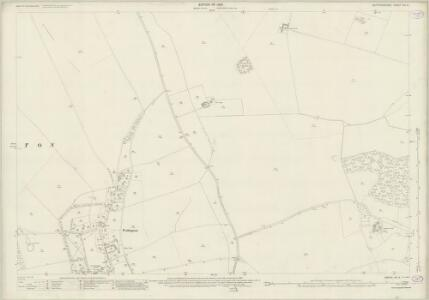 Hertfordshire VIII.6 (includes: Sandon; Wallington) - 25 Inch Map