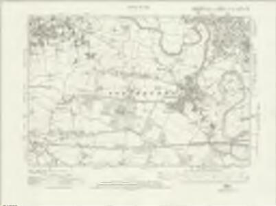 Lancashire CXI.SW - OS Six-Inch Map