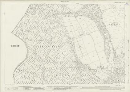 Hampshire and Isle of Wight LXII.14 (includes: Alderholt; Harbridge and Ibsley; Verwood) - 25 Inch Map