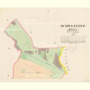 Schweinitz - c7647-1-001 - Kaiserpflichtexemplar der Landkarten des stabilen Katasters
