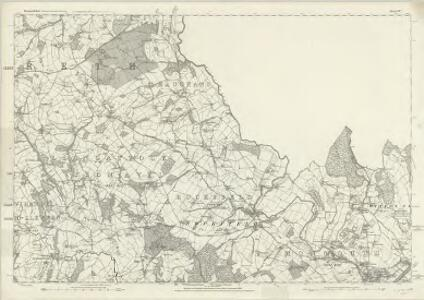 Monmouthshire VII - OS Six-Inch Map