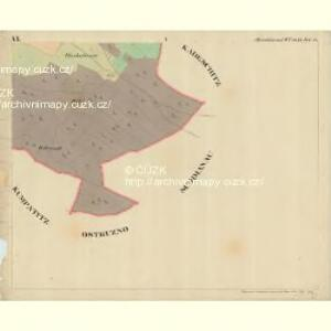 Albrechtsried - c0012-1-006 - Kaiserpflichtexemplar der Landkarten des stabilen Katasters