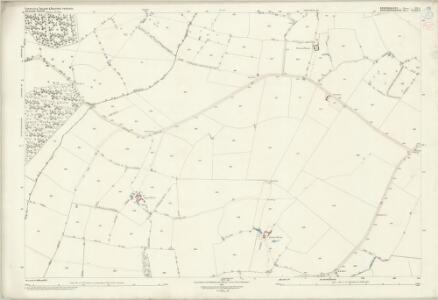 Bedfordshire XX.3 (includes: Cranfield; Moulsoe) - 25 Inch Map