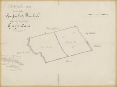 Polder Giessen-Oude Bovenkerk, gemeente Giessendam en Ottoland.