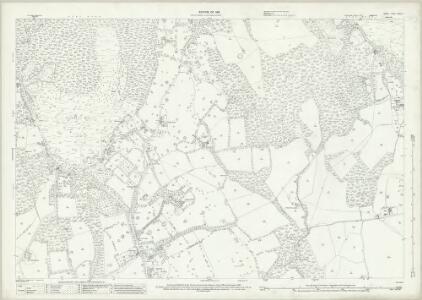 Surrey XXXIX.4 (includes: Ewhurst) - 25 Inch Map