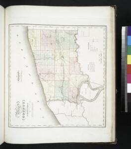 Map of the county of Niagara / by David H. Burr ; engd. by Rawdon Clark & Co., Albany, & Rawdon Wright & Co., N. York.