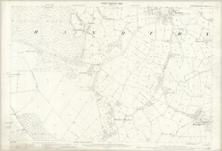 Staffordshire XL.1 (includes: Hanbury) - 25 Inch Map