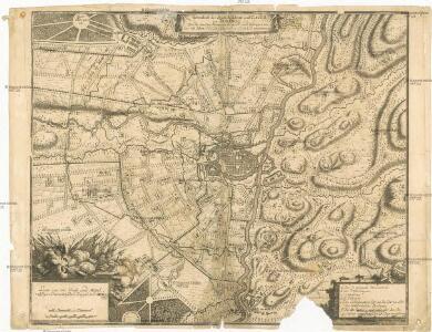Grundriß der Stadt Reßidenz und Cittadell von Turino