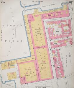Insurance Plan of London Vol. V: sheet 108