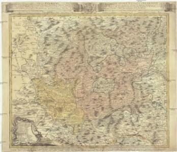 Repraesentatio geographica circvli Egerani nec non Elnbogensis in quo simul viae Egeranae in thermas Carolinas distincta delineato conscriptur