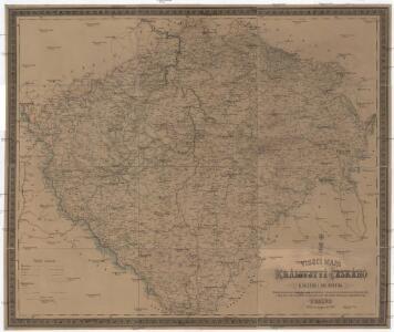 Viseci [sic] mapa Království českého