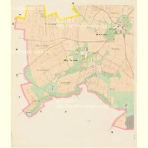 Bzy - c0730-1-003 - Kaiserpflichtexemplar der Landkarten des stabilen Katasters