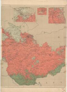 Národnostní mapa Republiky československé