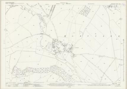 Shropshire LVIII.6 (includes: Aston Eyre; Morville; Upton Cressett) - 25 Inch Map