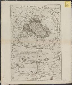 Plan du siège de Lille avec des environs [1708]