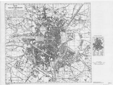 Montpellier [Town plan of] (1944)