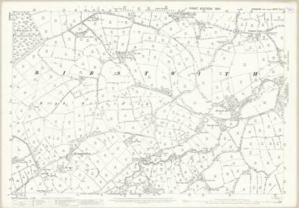 Yorkshire CLIII.7 (includes: Birstwith; Felliscliffe) - 25 Inch Map