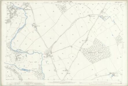 Essex (1st Ed/Rev 1862-96) XLIII.4 (includes: Great Waltham; Little Waltham) - 25 Inch Map