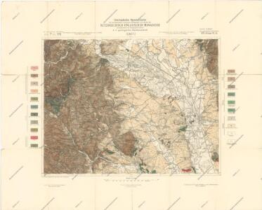 Geologische Spezialkarte der... Österreichisch-Ungarischen Monarchie... Olmütz