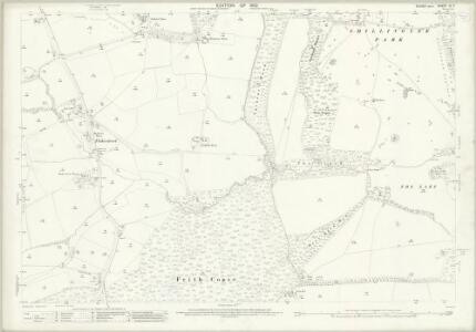 Sussex XI.7 (includes: North Chapel; Plaistow) - 25 Inch Map