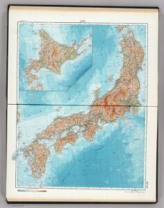123-124.  Japan.  The World Atlas.