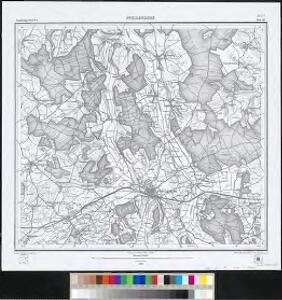Meßtischblatt [8021] : Pfullendorf, 1879
