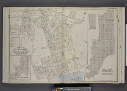 Part of Wards 4 & 5. [Map bound by Railroad Ave, The  Staten Island Railway Co., Great Kills Road, Amboy Road, Southfield Boulevard,   St, Mansion Ave, Cleveland Ave, Nelson Ave, Lindenwood Road, Park Terrace,       Seeley Lane, Colon Ave; Sub Plan -