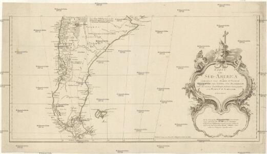 Karte von Süd-America
