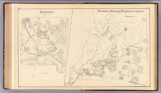 Pittsburg, Hubbard, Webster, Carlisle, Jefferson.