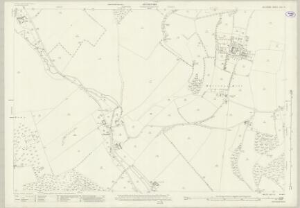 Wiltshire XXIV.13 (includes: Aldbourne; Baydon; Ramsbury) - 25 Inch Map