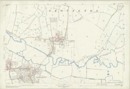 Somerset LXXIV.13 (includes: Chilton Cantelo; Limington; Yeovilton) - 25 Inch Map