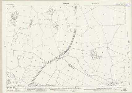 Shropshire XIII.13 (includes: Hordley; West Felton; Whittington) - 25 Inch Map