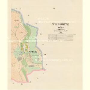 Wiedowitz - c8639-1-002 - Kaiserpflichtexemplar der Landkarten des stabilen Katasters