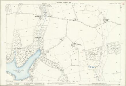 Hampshire and Isle of Wight LXXXI.13 (includes: Beaulieu) - 25 Inch Map