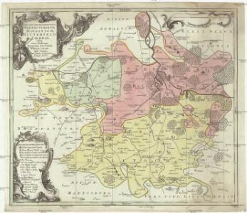Descriptio geographica praefecturarum Doelitsch, Bitterfeld, Zoerbig