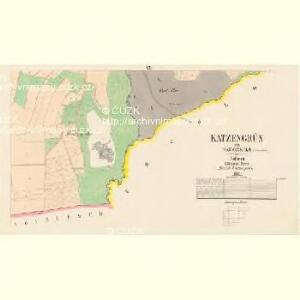 Katzengrün - c2958-1-006 - Kaiserpflichtexemplar der Landkarten des stabilen Katasters