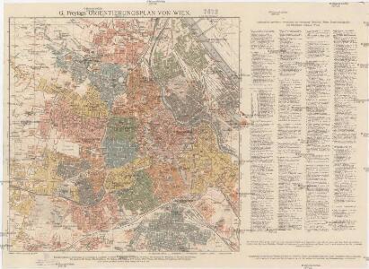 G. Freytags Orientierungsplan von Wien