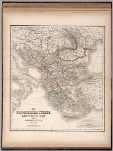 Das Europaeische Turkei, Griechenland und die Ionischen Inslen