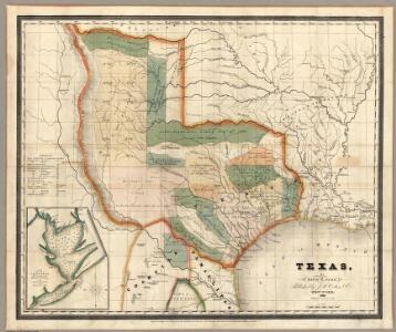 Texas, By David H Burr.