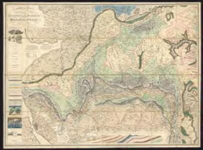 A mineralogical and geological map of the coalfield of Lancashire with parts of Yorkshire, Cheshire & Derbyshire