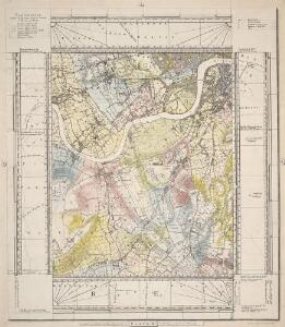 MILNE'S PLAN of the CITIES of LONDON and WESTMINSTER, circumjacent TOWNS and PARISHES &c. laid down from a TRIGONOMETRICAL SURVEY taken in the YEARS 1795-1799