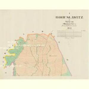 Bohuslawitz - m0144-1-001 - Kaiserpflichtexemplar der Landkarten des stabilen Katasters