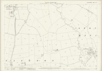 Leicestershire XLV.4 (includes: Shangton; Stonton Wyville; Tur Langton) - 25 Inch Map