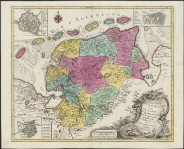 La Principauté d'Ost-Frise ou le Comté d'Embden : avec ses principales jurisdictions
