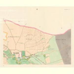 Rentsch (Rzencze) - c6688-1-002 - Kaiserpflichtexemplar der Landkarten des stabilen Katasters