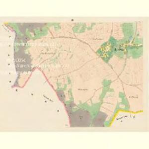 Jarowa (Garow) - c2781-1-003 - Kaiserpflichtexemplar der Landkarten des stabilen Katasters