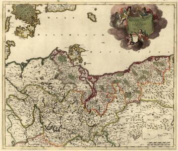 Marchionatus et Electoratus Brandeburgicus, una et Ducatus Pomeraniae in suas subdivisi Ditiones Atque noviter descripti
