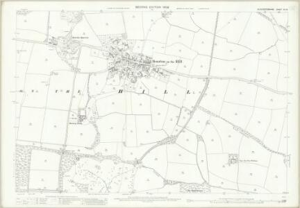 Gloucestershire XV.13 (includes: Bourton on the Hill; Sezincote) - 25 Inch Map