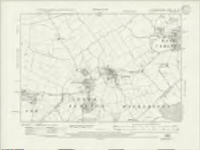 Northamptonshire XVI.NE - OS Six-Inch Map